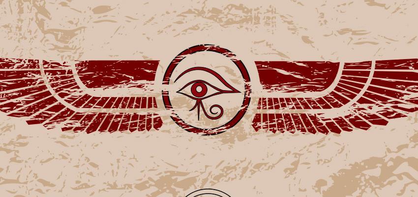 L'oeil d'Horus, symbole de chance et de bonne santé