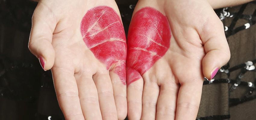 La ligne de cœur en chiromancie