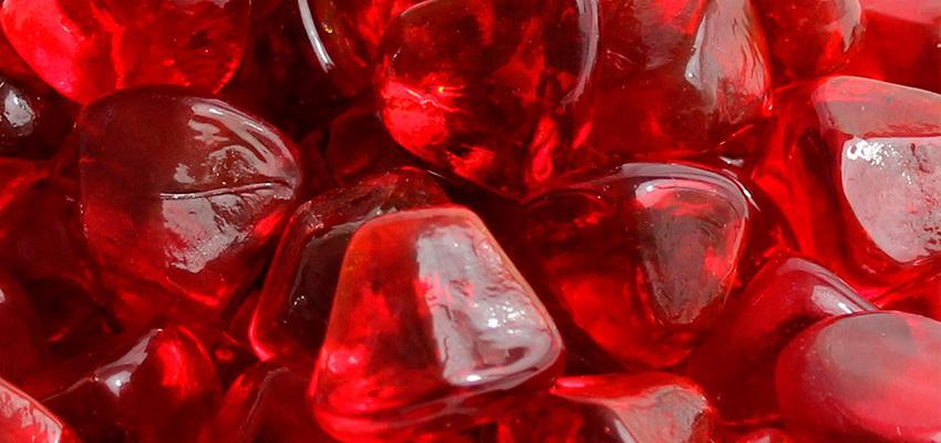 Le rubis, la pierre de la force et du courage