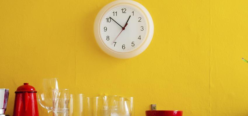 Le sens des heures miroir aux nombres différents