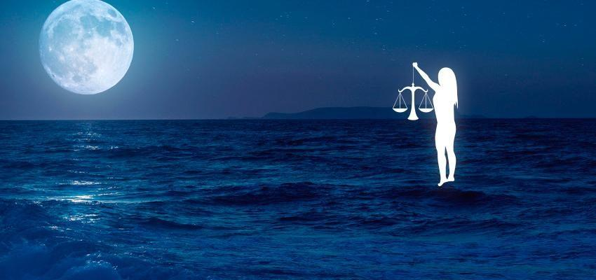 La lune en Balance dans le thème natal