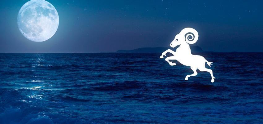 La lune en Bélier dans le thème natal