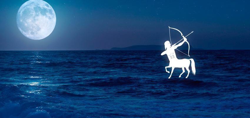 La lune en Sagittaire dans le thème natal