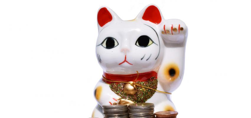 Maneki neko, le chat qui porte-bonheur