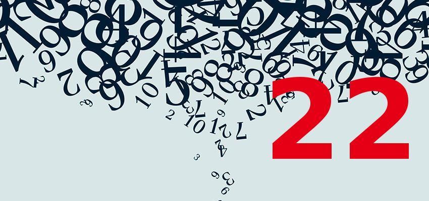 Interprétation du numéro 22 selon la numérologie