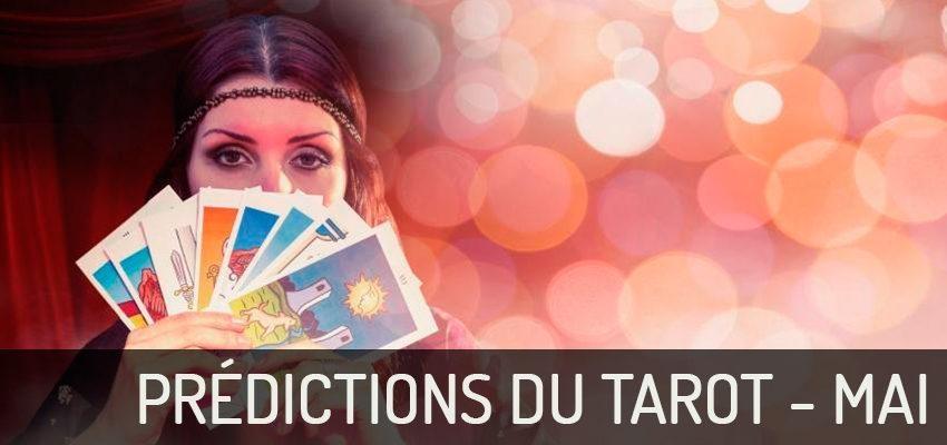 Découvrez les prédictions du Tarot pour Mai 2018 !
