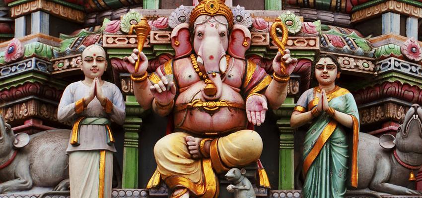 Que représente Ganesh dans la vie d'un humain ?