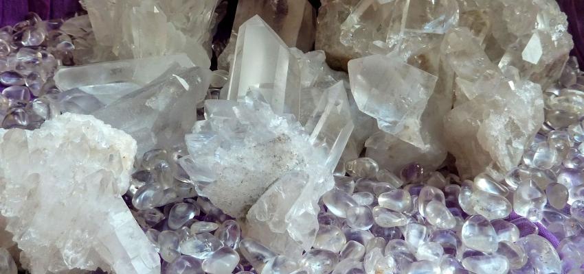 Le quartz blanc et ses nombreuses vertus