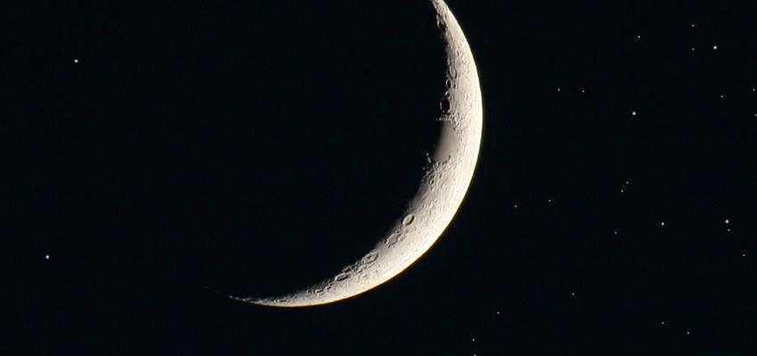 Zoom sur la nouvelle lune 2017