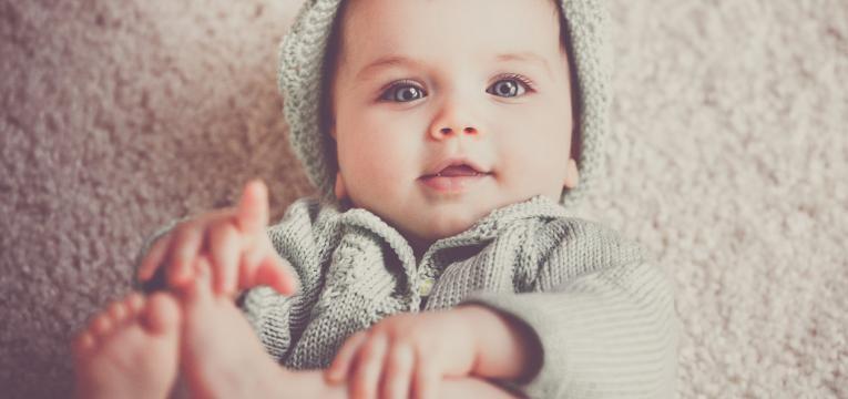 réflexologie pour bébé