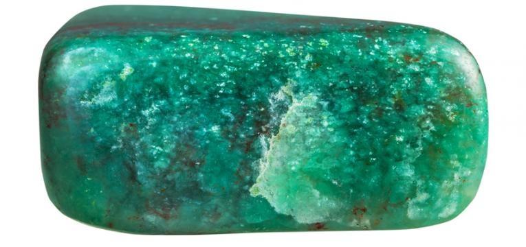 pierre fuschite verte