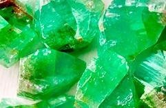 pierre de protection calcite verte