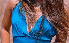 couleurs de vêtements pour le réveillon 2020 : bleu