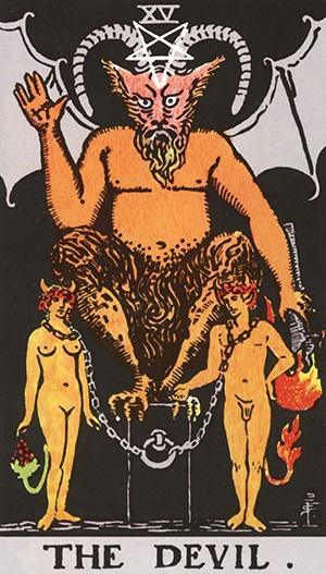 tarot - Diabo