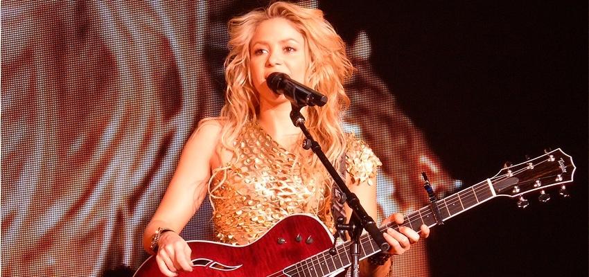 Goût musical de Gémeaux, Balance et Verseau Shakira