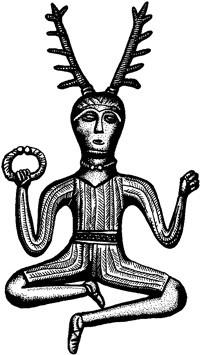 Symboles de sorcellerie - La mère déesse et Cerunos