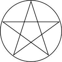 Symboles de sorcellerie - Le pentacle