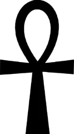 Symboles de sorcellerie - La croix ovale