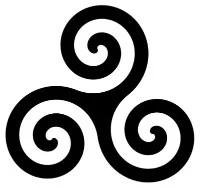 Symboles de sorcellerie - Le triple cercle