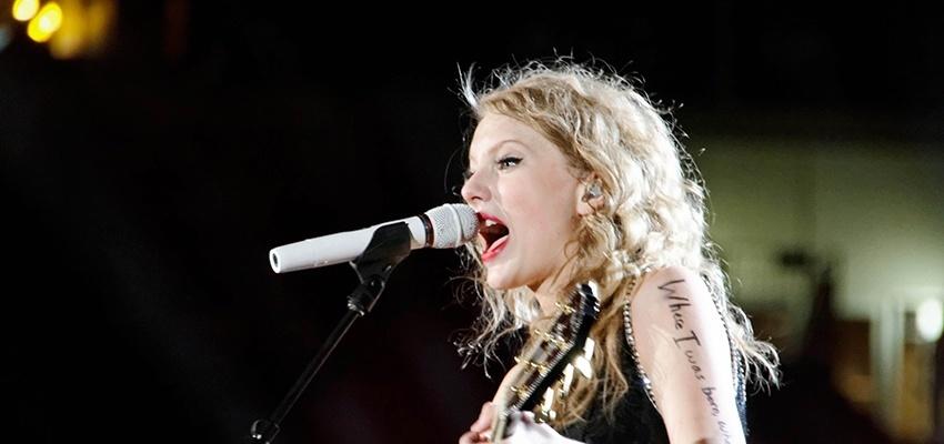 Goût musical de Bélier, Lion et Sagittaire Taylor Swift
